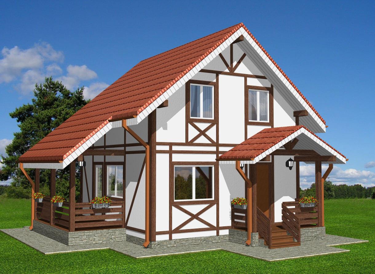 Отделка фронтонов деревянного дома фото карты
